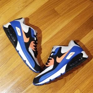 Nike Air Max NYC Bright Mandarin Sneakers(2011)